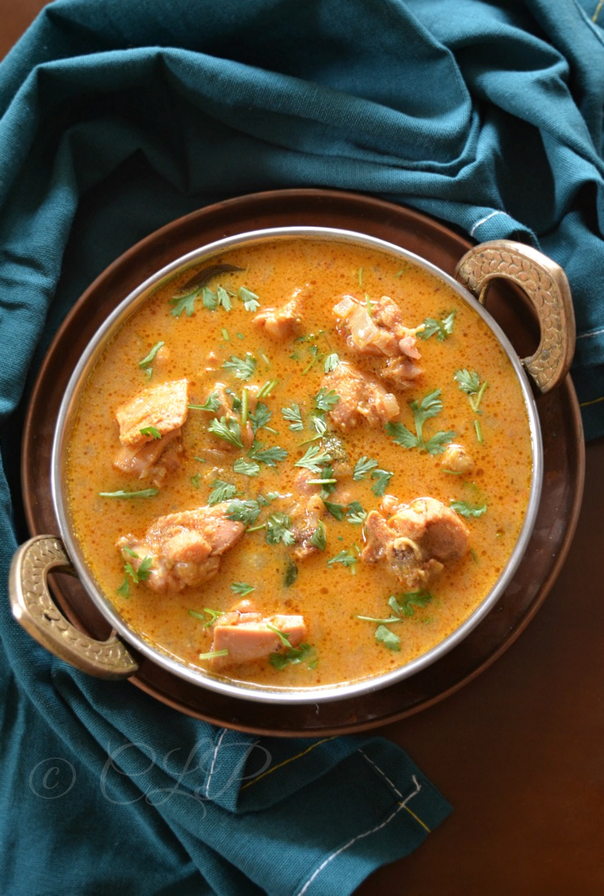 Chappathi Chicken Curry
