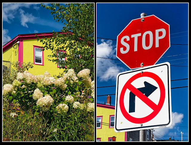 Nova Scotia; Lunenberg; Stop Sign; Primary Color