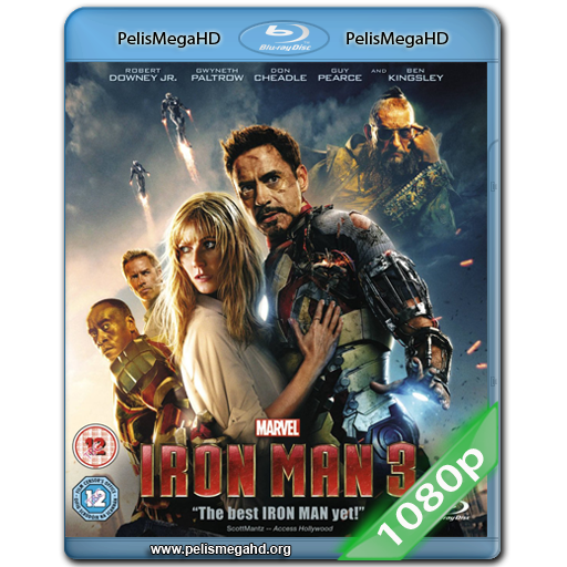 IRON MAN 3 (2013) FULL 1080P HD MKV ESPAÑOL LATINO