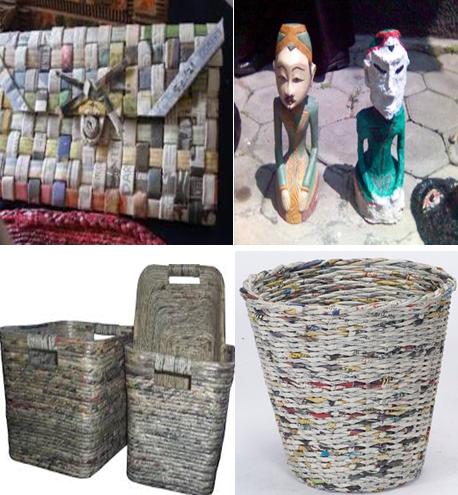 Pemanfaatan Sampah Kertas Menjadi Kerajinan Bernilai Ekonomis