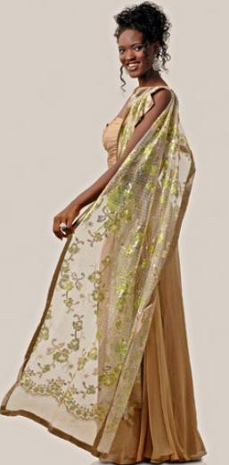 Miss Guinea Bissau Supranational 2012 winner Benazira Djoco