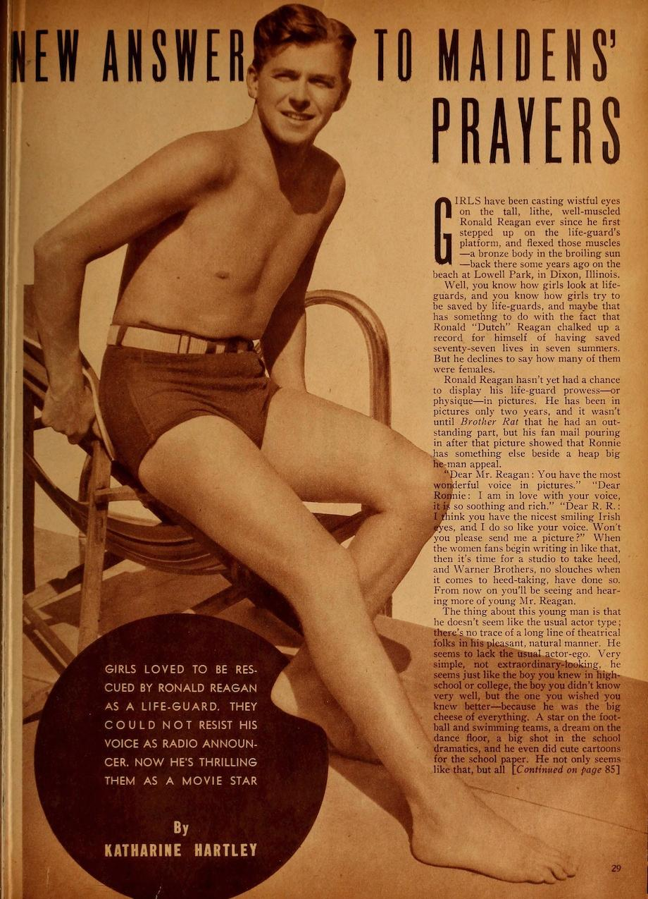 john brown s notes and essays bruce jenner call me caitlyn reagan image from caption motion picture magazine 1939 courtesy of the media history digital library