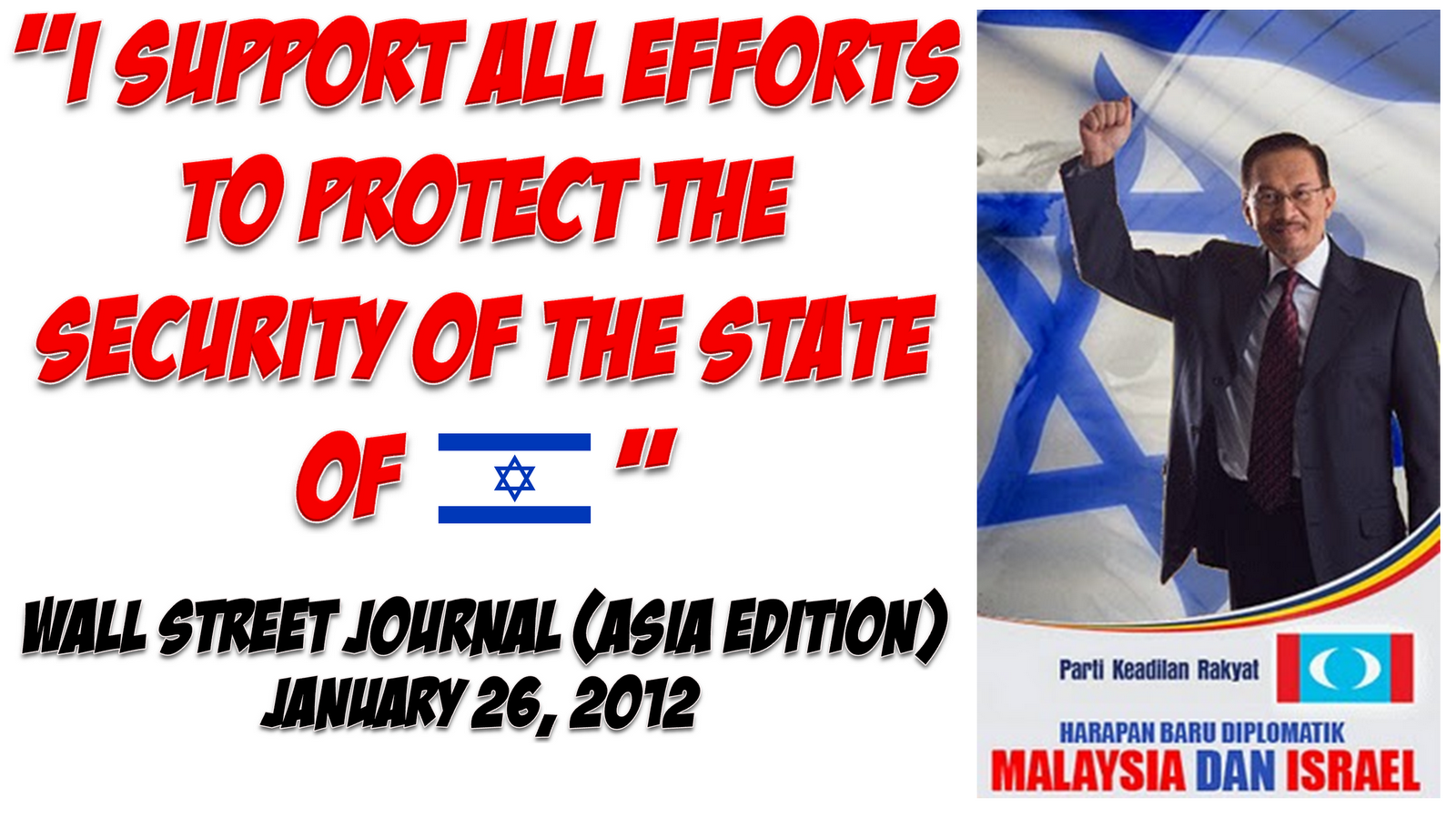 Support All Efforts To Protect The Security Of The State Of Israel ...