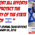 """I Support All Efforts To Protect The Security Of The State Of Israel"" - Anwar Ibrahim"