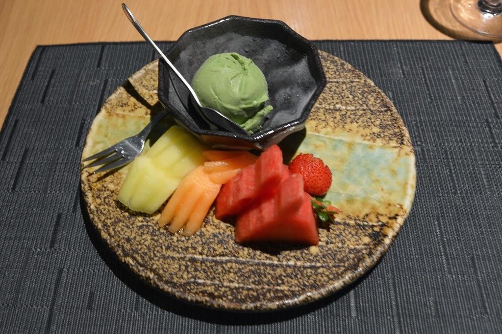 Restaurant Tatsu Kuala Lumpur fruit and ice