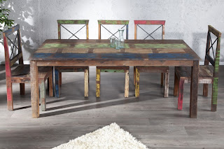 exotické jedálenské stoly z masivneho dreva, luxusny nabytok z masivneho dreva