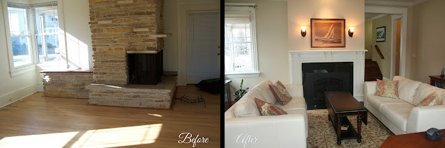 Oconomowoc Living Room Remodel