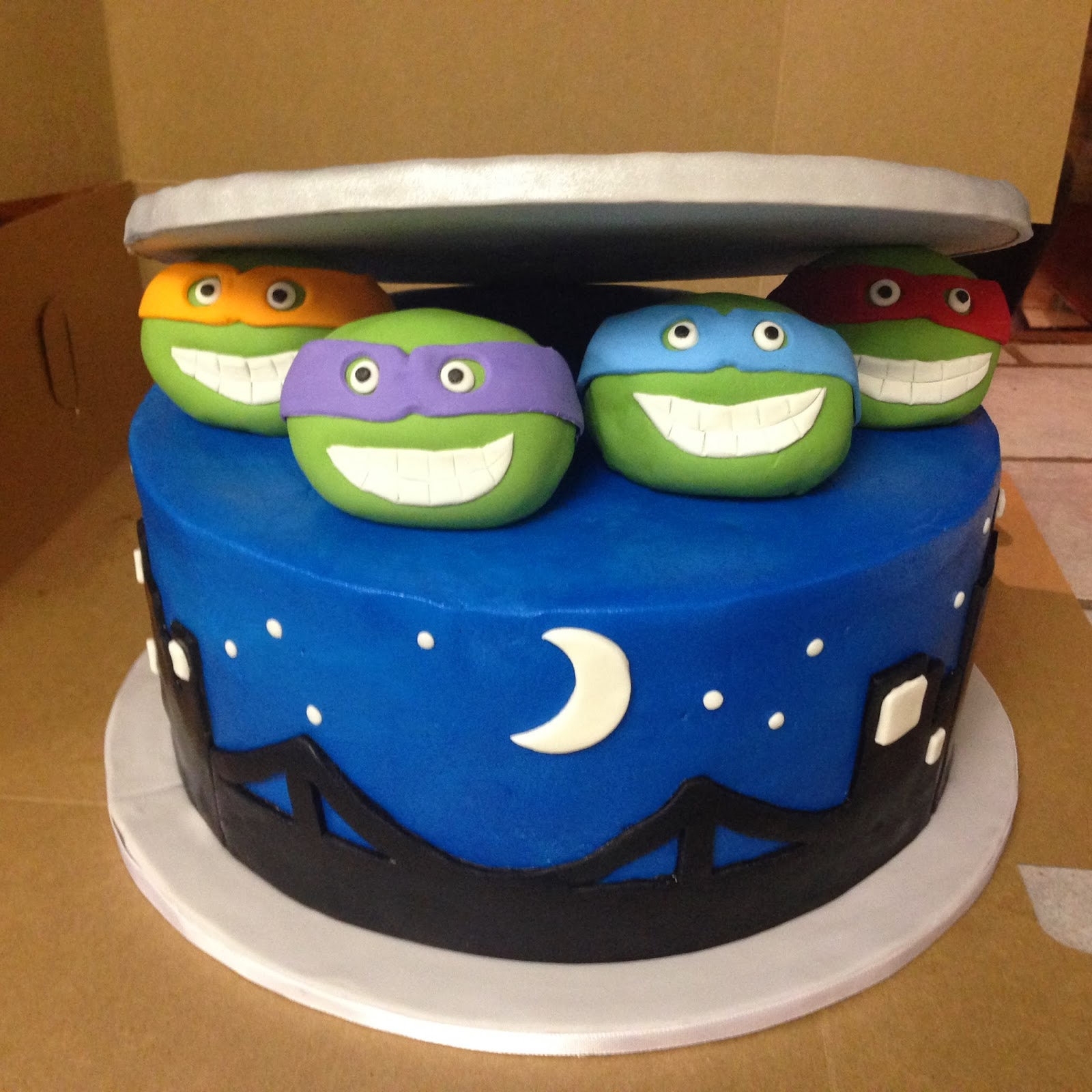Cakes By Mindy Teenage Mutant Ninja Turtles Cake 10