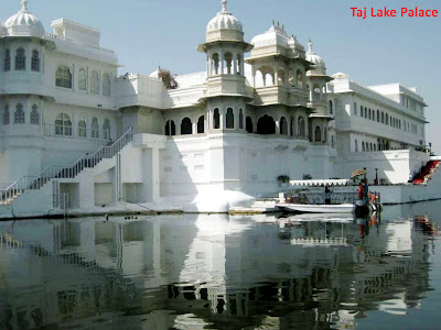 Taj Lake Palace in Rajasthan