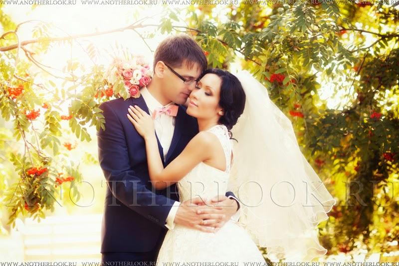 рябина свадебная фотосессия