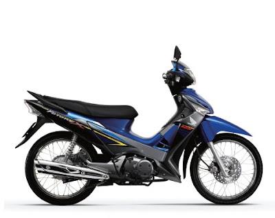 Honda Future X màu xanh tháng 6-2011