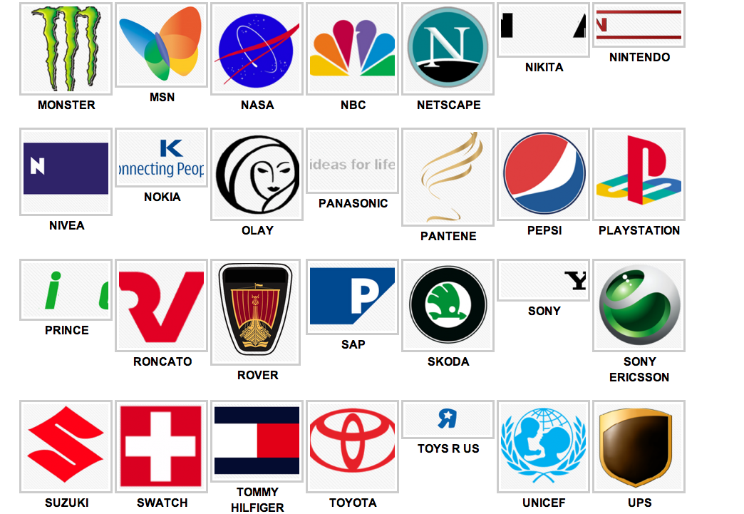 Image Gallery logos answers level 15 20
