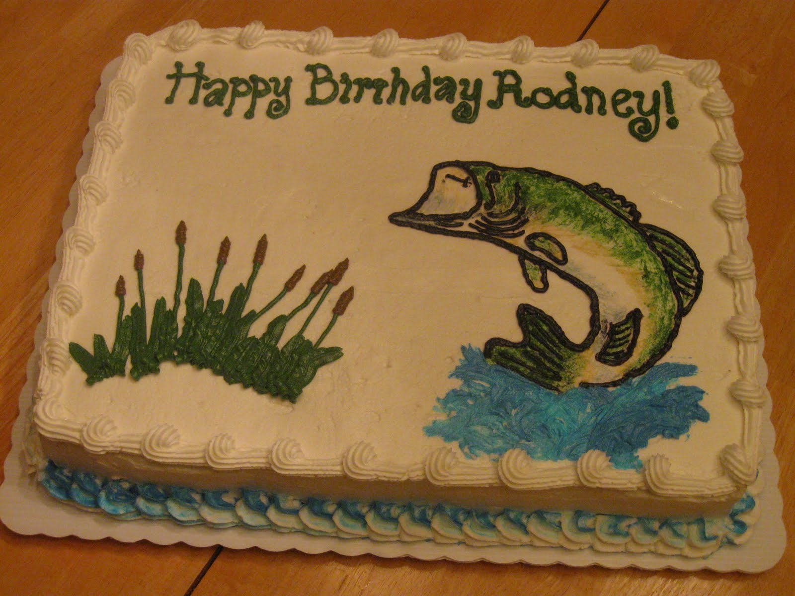Cakes By Becky Bass Fisherman Birthday Cake