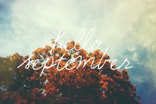 Precocious Paper: Hello, September - and Baby!