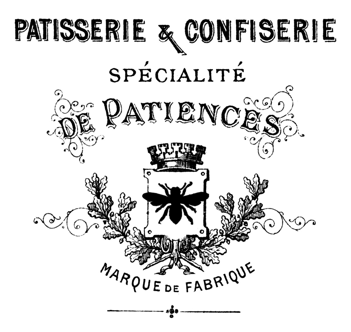 Elinore 39 s birthday party on pinterest french patisserie - The graphics fairy ...