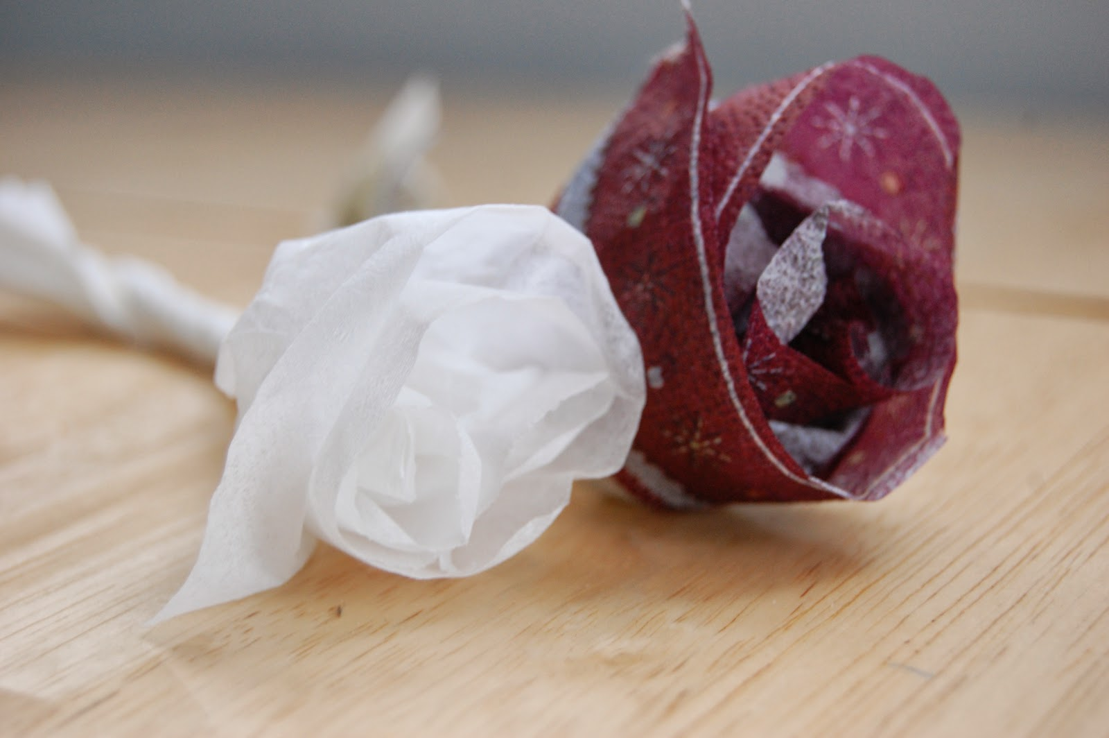Upcycle Us Making Flowers With Napkins Paper Towel Or Gift Tissue