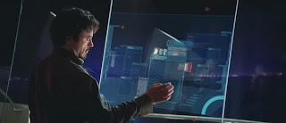 Tony Stark's Computer Screens