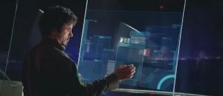 Tony Stark's Computer Screens