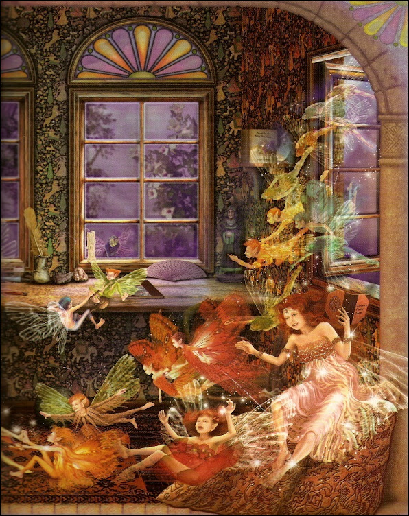 Carol McLean-Carr from her 'Fairy Dreams' book