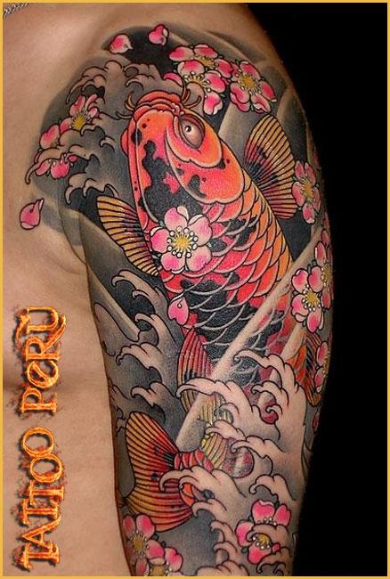 Tattoo Brazo Hombre Japones tattoo peru: historia del tatuaje