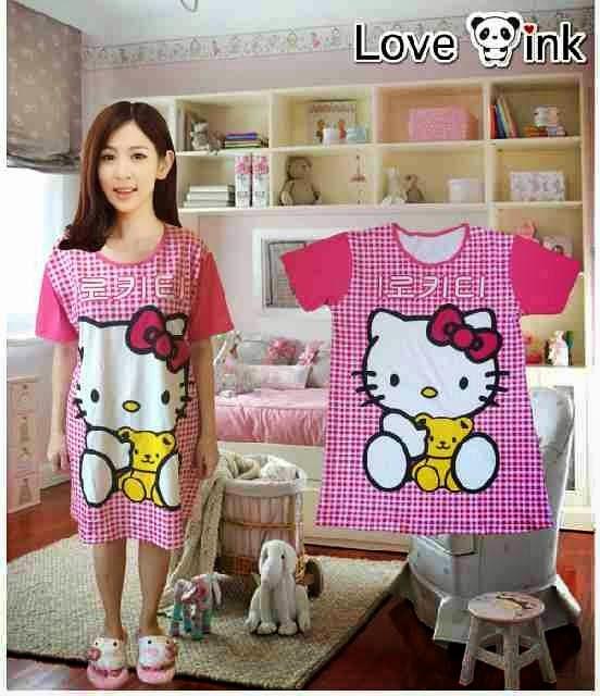 "Dress Hello Kitty Kotak"" (XL). Love Ink."