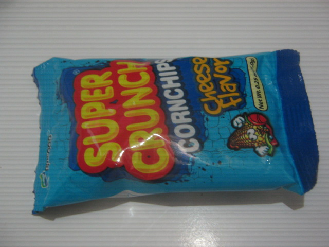 Prifood Corporation Super Crunch Cornchips Cheese Flavor Individual Packaging Front Layout - Sari-Sari Store Archives