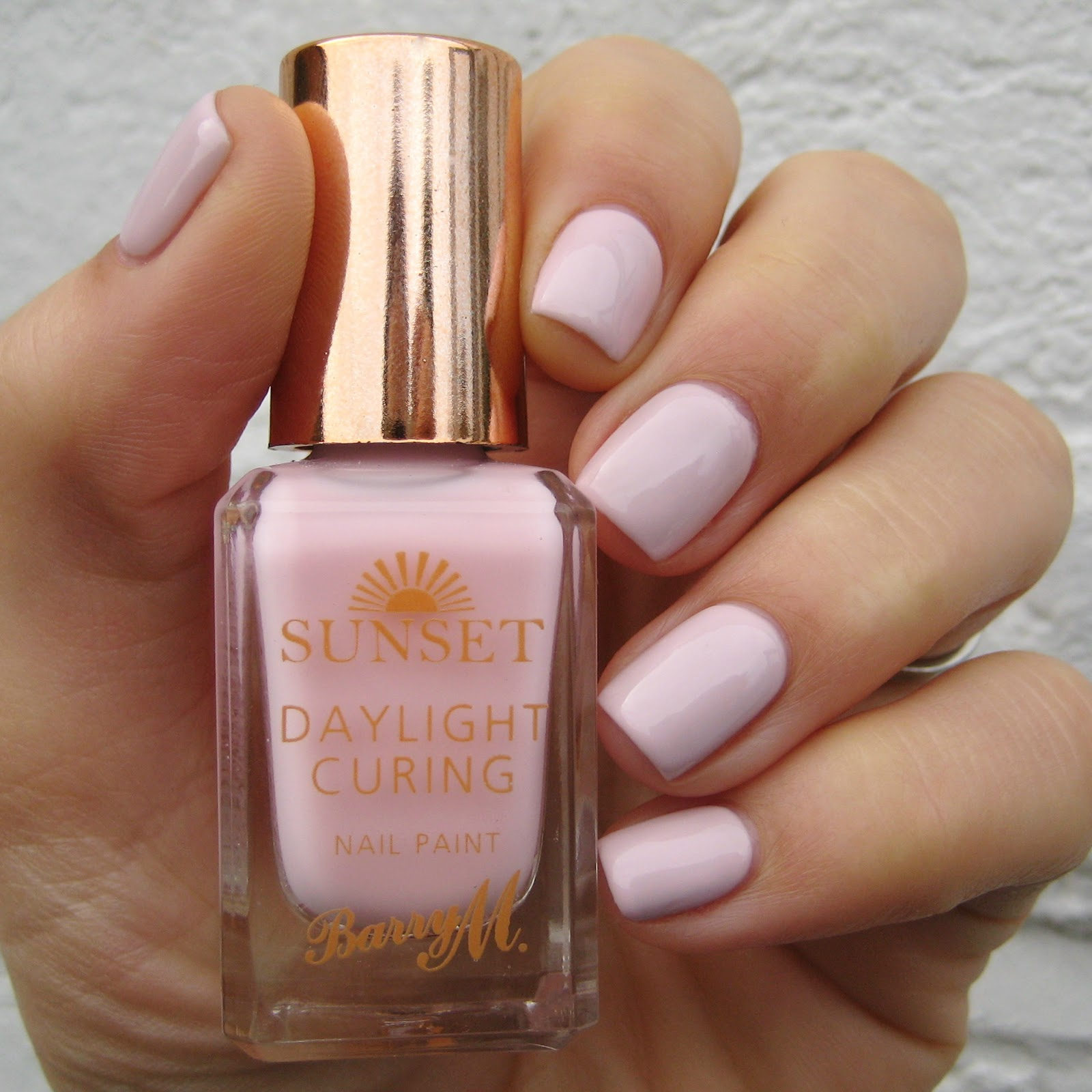 Finger Nail Paint: Dahlia Nails: Barry M AW Sunset Swatches