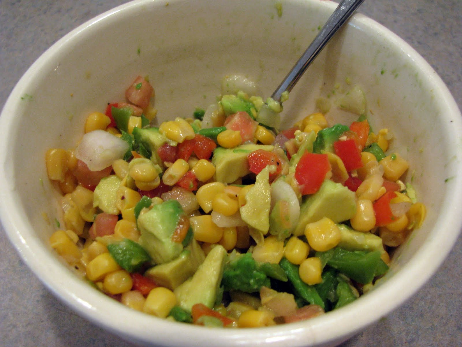 Musings from Kim K.: Corn Harvest & Corn Salad with Avocado