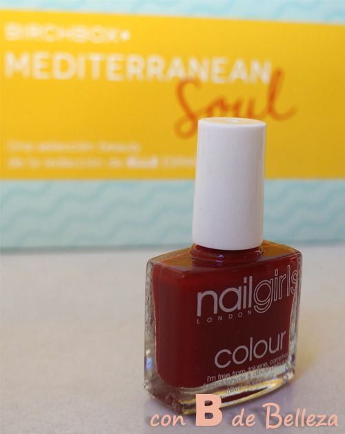 Esmalte rojo Nailgirls London