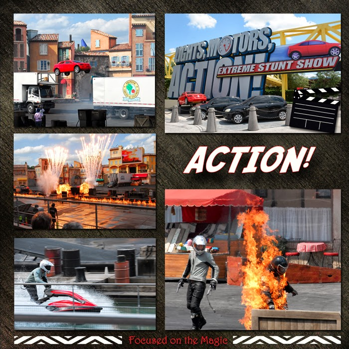 Lights, Motors Action Extreme Stunt Show at Disney Hollywood Studios in Disney World.