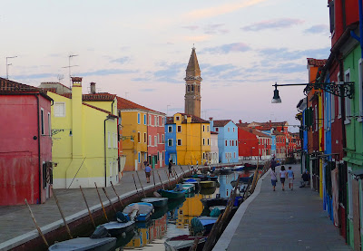 Beautiful Burano, Italy