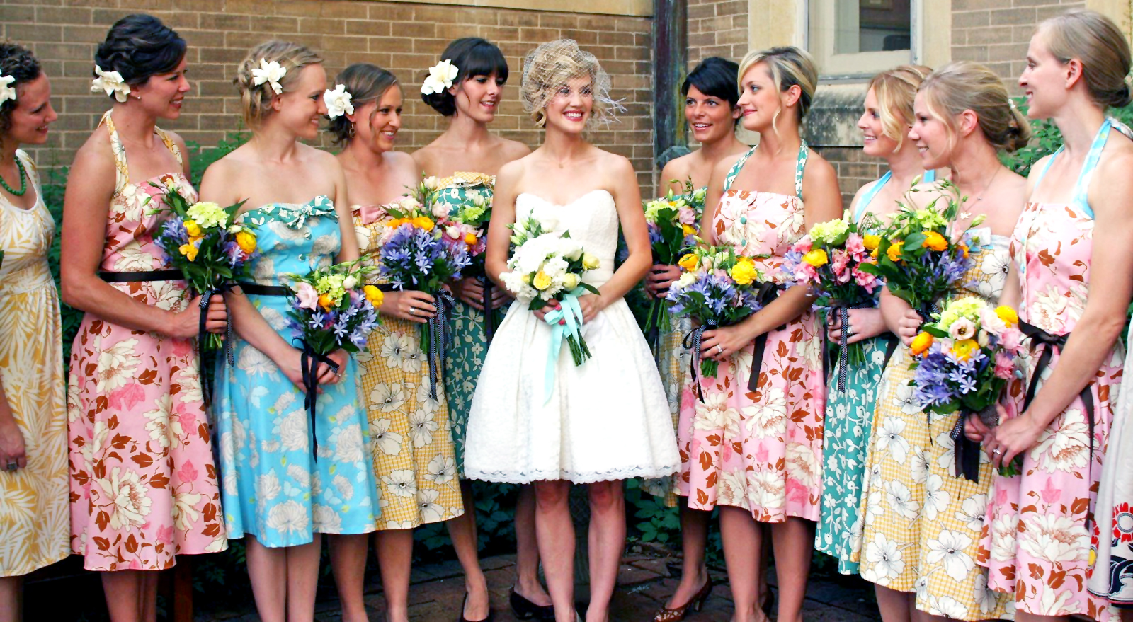 Wedding Trends Printed Bridesmaid Dresses