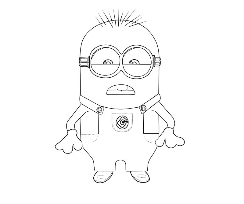 #2 Despicable Me 2 Coloring Page