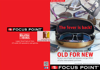 FOCUS POINT Sale Offers 2012