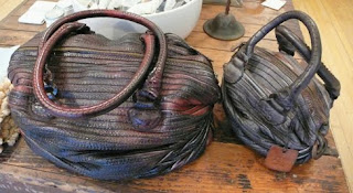 Handmade Majo leather bags.