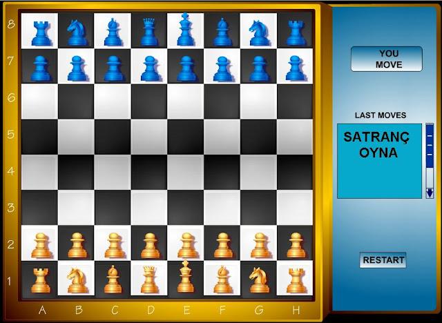 satranç oyna bilgisayara karşı satranç oyunu oyna chess game