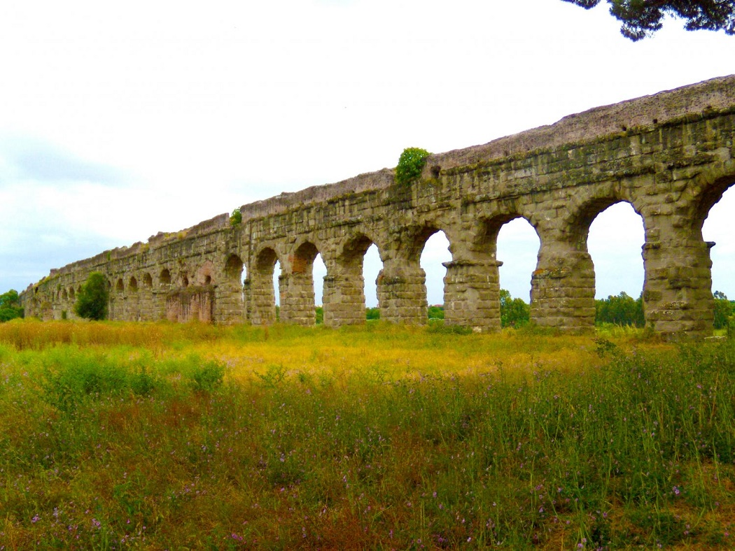 Travertine reveals ancient Roman aqueduct supply - The ...
