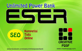 Kontest SEO ESER Unlimited Power Bank