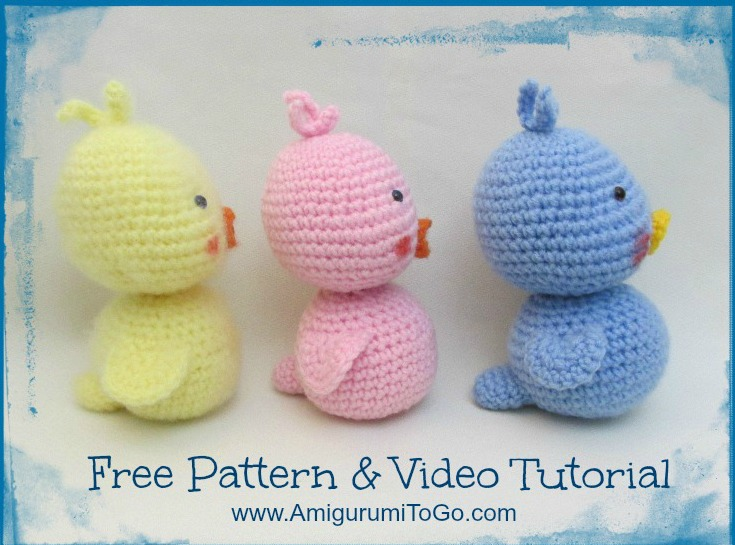 Amigurumi To Go Tutorial : Amigurumi duck video tutorial to go