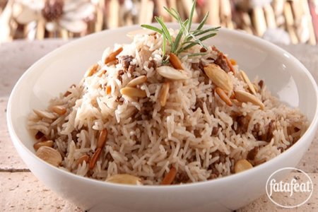 Lebanese biryani rice recipe