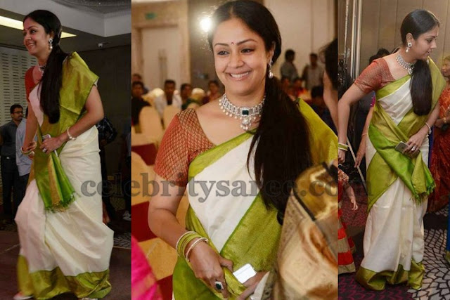 Jyothika at a Wedding Reception Party