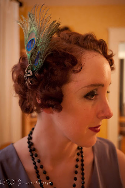 1920s flapper hairstyle tutorial