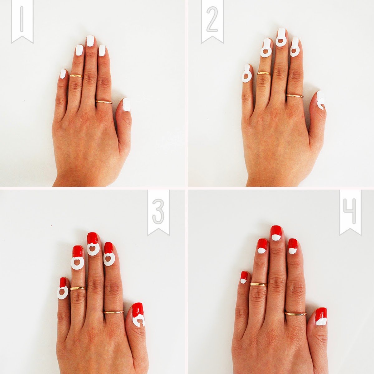 Nail Art Ideas » Nail Art With Reinforcement Labels - Pictures of ...