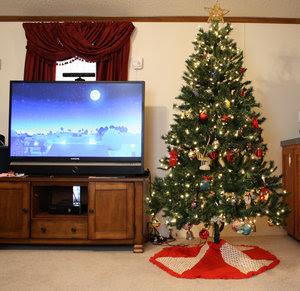 Living Room Christmas 2011-1
