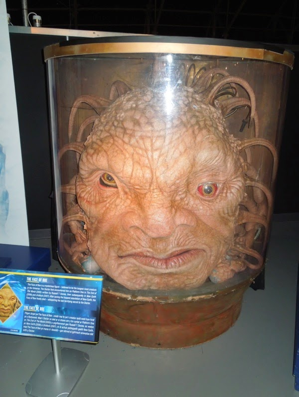 Doctor Who Face of Boe prop
