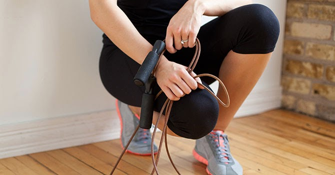 jump rope, cardiovascular exercise, exercise at home, lose weight at home, exercise to lose weight