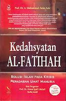 toko buku rahma: buku kedahsyatan al-fatimah, pengarang prof. dr. ir. muhammad amin aziz, penerbit pustaka nuun
