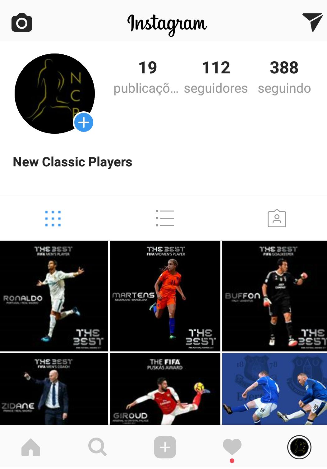 Siga Nosso Instagram
