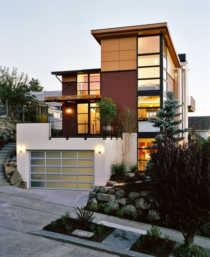 New home designs latest.: Modern house exterior designs images.