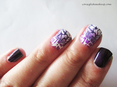 nail art stamping unghie